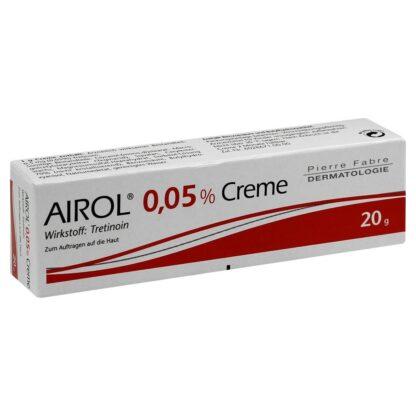 Tretinoïne (Retin-A, Airol crème)