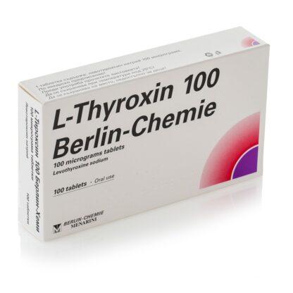 Levothyroxin-Natrium T4 (L Thyroxin 100)