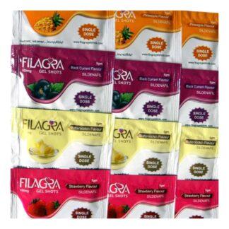 Sildenafiilihyytelö (Filagra-hyytelö, Viagra-hyytelö)