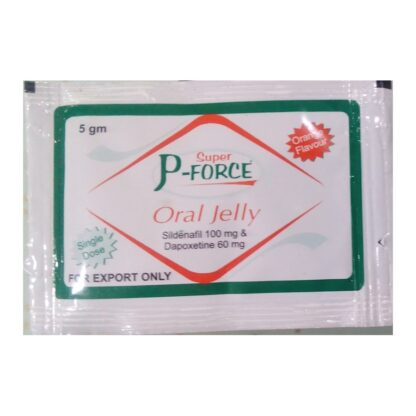 Sildenafil + Dapoxetine jelly (jalea oral Super P-Force)