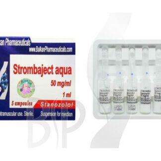 Stanozolol iniettabile (Winstrol Depot, Stanazol, Androstanazole)