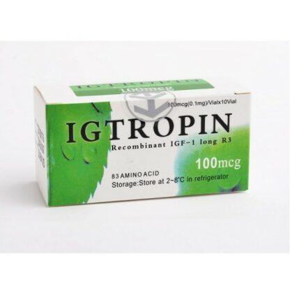 Igtropin IGF-1 Long R3 (facteur de croissance analogue à l'insuline)